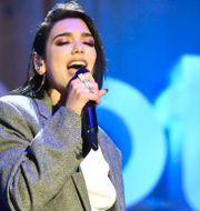 Albansk-brittiska artisten Dua Lipa vid Spotify-event. Arkivbild. Phil Mccarten / TT NYHETSBYRÅN