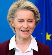 Ursula von der Leyen, EU-kommissionens ordförande.  Francois Walschaerts / TT NYHETSBYRÅN