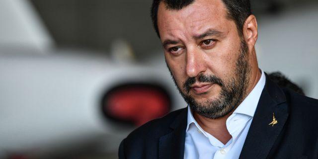 Arkivbild: Salvini. ALBERTO PIZZOLI / AFP
