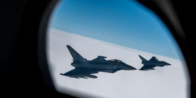 Eurofighter.  Mindaugas Kulbis / TT / NTB Scanpix