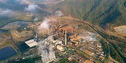 Fiskare befarar att nickelgruvan i El Estor i Guatemala förgiftar både sjön och luften. Forbidden Stories/TT