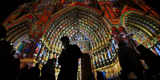 Notre-Dame. PHIL NOBLE / TT NYHETSBYRÅN