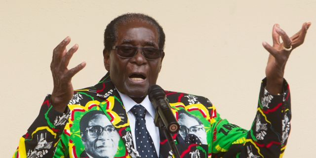 Robert Mugabe Tsvangirayi Mukwazhi / TT NYHETSBYRÅN