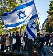 Ulf Kristersson/Manifestation mot antisemitism i Malmö. TT