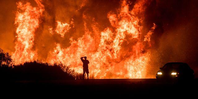 Ventura i södra Kalifornien  Noah Berger / TT NYHETSBYRÅN