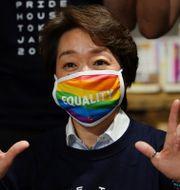 Seiko Hashimoto. Eugene Hoshiko / TT NYHETSBYRÅN