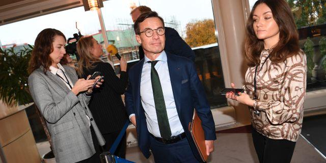 Ulf Kristersson (M) Fredrik Sandberg/TT / TT NYHETSBYRÅN