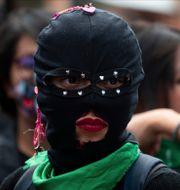 Demonstration för rätten till abort i Mexiko, 2020. Fernando Llano / TT NYHETSBYRÅN