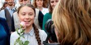 Greta Thunberg.  Leonhard Foeger / TT NYHETSBYRÅN