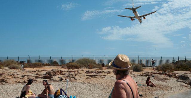 Arkivbild. En semesterfirare i Mallorca.  Joan Mateu / TT NYHETSBYRÅN