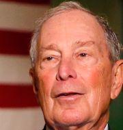 Arkivbild: Michael Bloomberg.  Rick Scuteri / TT NYHETSBYRÅN