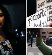 Nelly Milad (t.v.) från Chile tvingades åka till Cuba 2004 för att avsluta en graviditet. TT