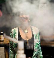 Illustrationsbild. Elise McRoberts driver Magnolia cannabis vape lounge i Oakland, Kalifornien (april 2018). Elijah Nouvelage / TT NYHETSBYRÅN