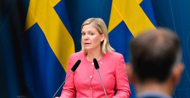 Finansminister Magdalena Andersson (S). Henrik Montgomery/TT / TT NYHETSBYRÅN