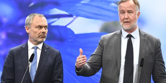 Jan Björklund (L) och Johan Pehrson (L). Claudio Bresciani/TT / TT NYHETSBYRÅN