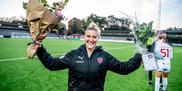 Anja Mittag hyllades efter matchen. CHRISTIAN ÖRNBERG / BILDBYRÅN