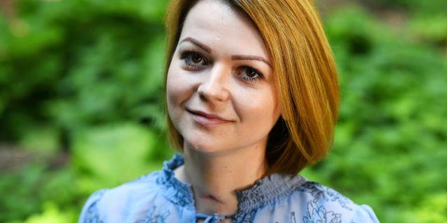 Julia Skripal. DYLAN MARTINEZ / TT NYHETSBYRÅN