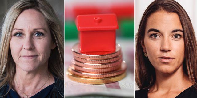 Christina Sahlberg och Johanna Kull, sparekonomer på Compricer respektive Avanza.  TT