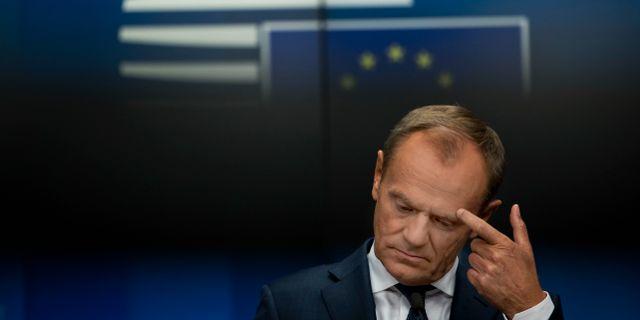Donald Tusk, ordförande i Europeiska rådet. Francisco Seco / TT NYHETSBYRÅN/ NTB Scanpix