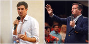 Beto O'Rourke utmanar Ted Cruz om Texas plats i senaten. TT