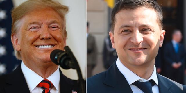 Donald Trump/Volodymyr Zelenskyj. TT