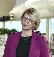 Moderaternas ekonomiskpolitiska talesperson Elisabeth Svantesson. Claudio Bresciani/TT / TT NYHETSBYRÅN