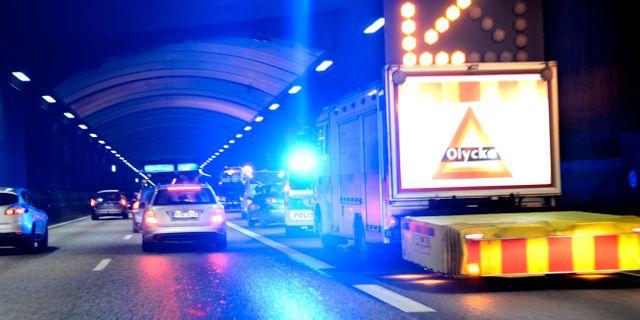 Egyptiska poliser dog i tunnel