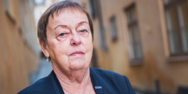 Christina Tallberg, ordförande PRO  Allis Nettréus/SvD/TT / TT NYHETSBYRÅN