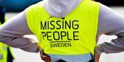 Frivilliga organisationen Missing People deltar i en sökinsats för den tolvåriga pojken. Erik Simander/TT / TT NYHETSBYRÅN
