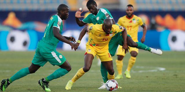 Senegal mot Benin. MOHAMED ABD EL GHANY / BILDBYRÅN