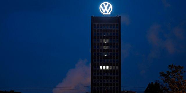 Volkswagens huvudkontor i Wolfsburg. Fabian Bimmer / TT NYHETSBYRÅN
