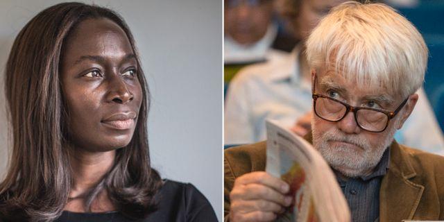 Nyamko Sabuni och Per Gahrton.  TT