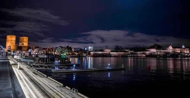 Arkivbild: Oslo med rådhuset och Akershus fästning Terje Pedersen / TT NYHETSBYRÅN