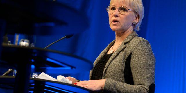 Margot Wallström. PONTUS LUNDAHL / TT / TT NYHETSBYRÅN