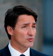 Kanadas premiärminister Justin Trudeau. Sean Kilpatrick / TT NYHETSBYRÅN