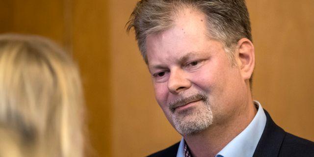 Axel Josefson (M), kommunstyrelsens ordförande i Göteborg. Thomas Johansson/TT / TT NYHETSBYRÅN