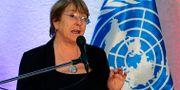 Michelle Bachelet, FN:s människorättschef. CRISTIAN HERNANDEZ / AFP