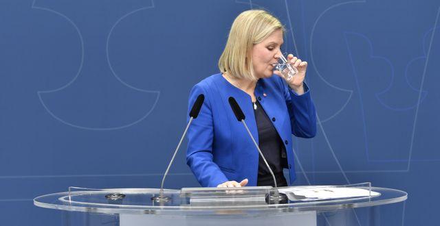 Arkivbild: Finansminister Magdalena Andersson (S) Anders Wiklund/TT / TT NYHETSBYRÅN