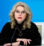 Tatyana Golikova, Rysslands vice premiärminister.  Dmitry Astakhov / TT NYHETSBYRÅN