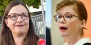 Utbildningsminister Anna Ekström (t.v) och Liberalernas regionråd Anna Starbrink (t.h) TT