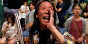 Väljare i Hongkong följer röstr ADNAN ABIDI / TT NYHETSBYRÅN