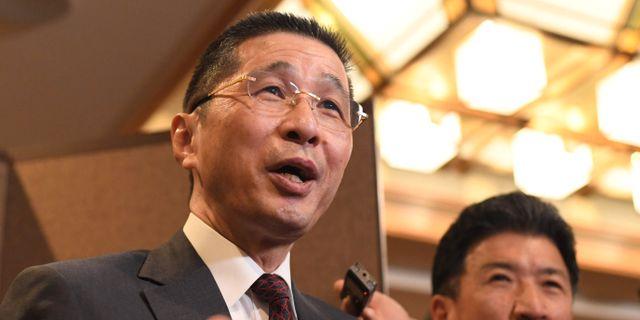 Nissans vd Hiroto Saikawa TOSHIFUMI KITAMURA / AFP