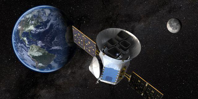 Arkivbild, satellit. NASA / TT NYHETSBYRÅN