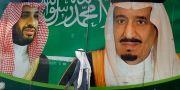 Kronprins Mohammed bin Salman och kung Salman. Amr Nabil / TT NYHETSBYRÅN