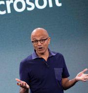 Arkivbild: Microsofts vd Satya Nadella.  Mark Lennihan / TT NYHETSBYRÅN