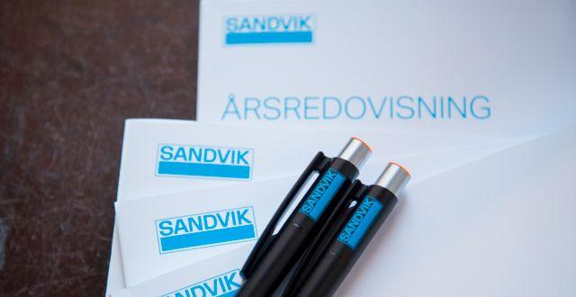Sandviks rapport i veckan visade att återhämtningen fortsätter och att verkstadskoncernen klarat krisen väl, menar DI:s Ulf Petersson. Johanna Norin/TT / TT NYHETSBYRÅN