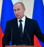 Vladimir Putin. Arkivbild. Alexander Nemenov / TT NYHETSBYRÅN/ NTB Scanpix