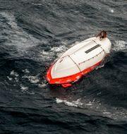 Livbåt från räddningsaktionen i samband med Estonias förlisning 1994.  Leif R Jansson / TT / / TT NYHETSBYRÅN