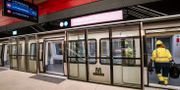 Station längs Köpenhamns nya metrolinje. Johan Nilsson/TT / TT NYHETSBYRÅN
