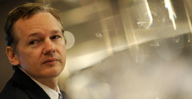 Julian Assange 2010/Arkivbild Lennart Preiss / TT NYHETSBYRÅN